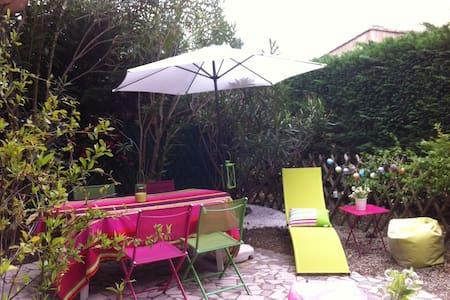 RDC+jardin, piscine et tennis dans jolie residence - Le Plan-de-la-Tour