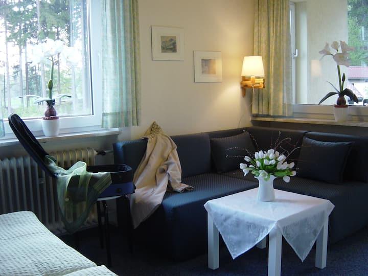 Hotel Barbara*** mit Ferienwohnungen***** (Warmensteinach), Doppelzimmer gemütlich, mit viel Liebe zum Detail eingerichtet