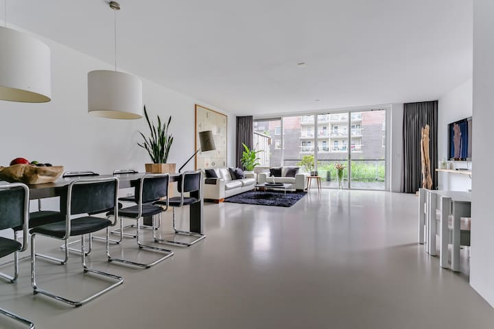 Spacious watervilla / IJburg - 15 minutes to CS - Amsterdam - Casa
