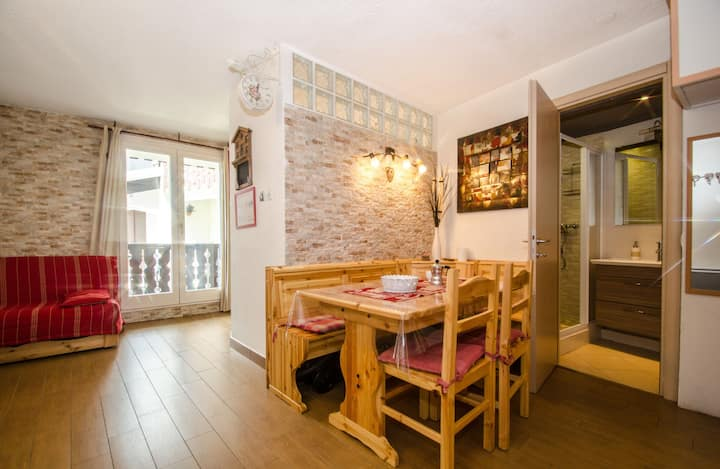 Cosy 29 sqm studio with balcony close to the pedestrian area