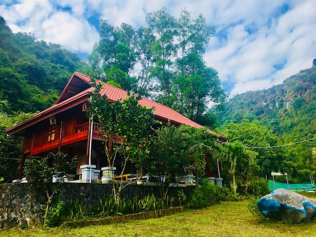 Three bedroom Chalet at Cat Ba Eco Lodge