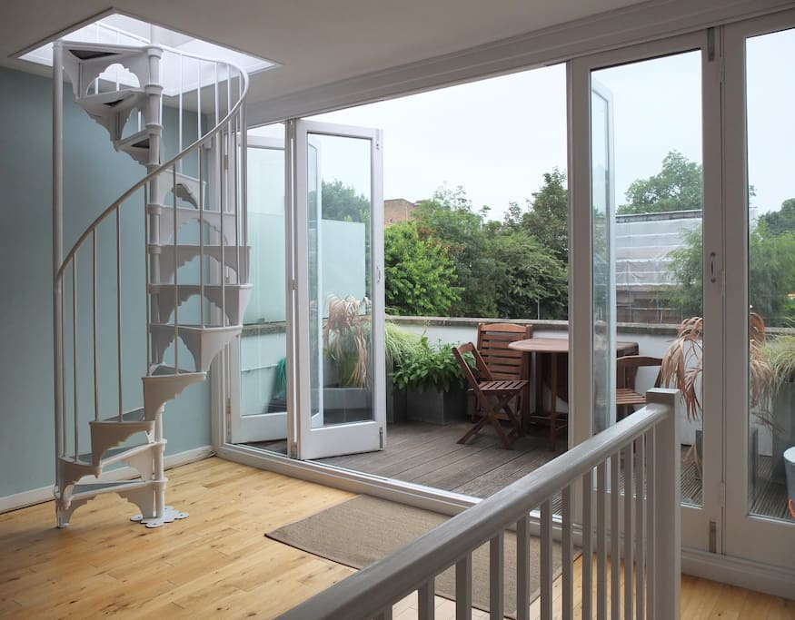 Living Space & Balcony