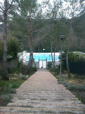 studio piscine valbonne - Valbonne - Wohnung