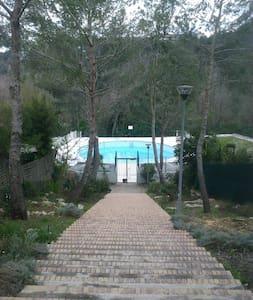 studio piscine valbonne - Apartment
