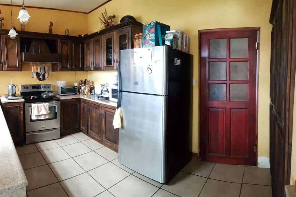 Areas comunes: cocina.