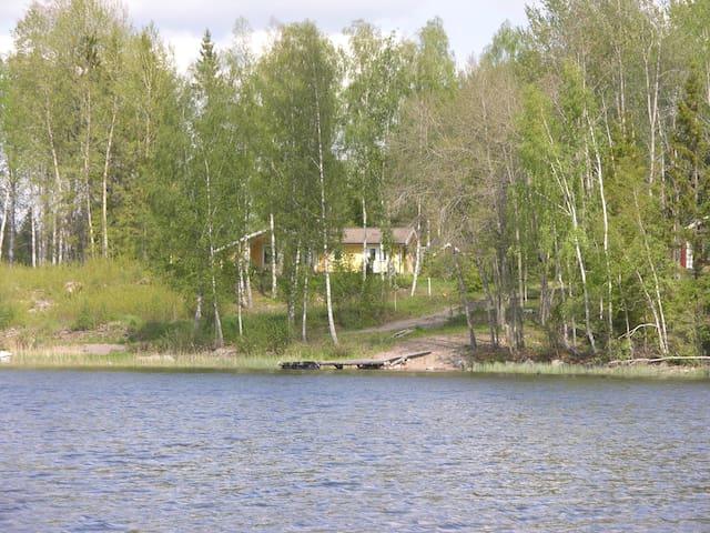 Seen, Wälder und Erholung -  Ferienhaus am See