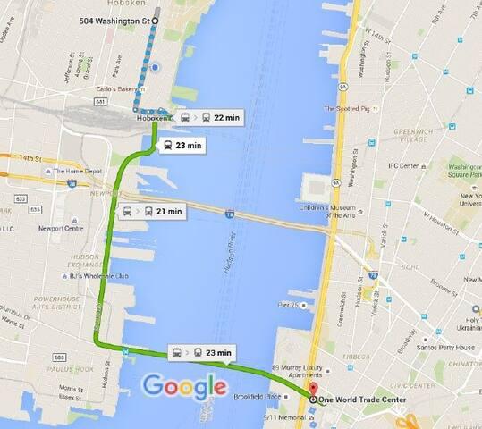 Prime Hoboken location 25min to NYC - Hoboken - Apartment