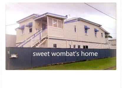 Wombat's Place Downstairs - Parramatta Park