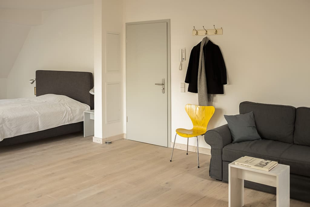 Schlaf- und Wohnbereich