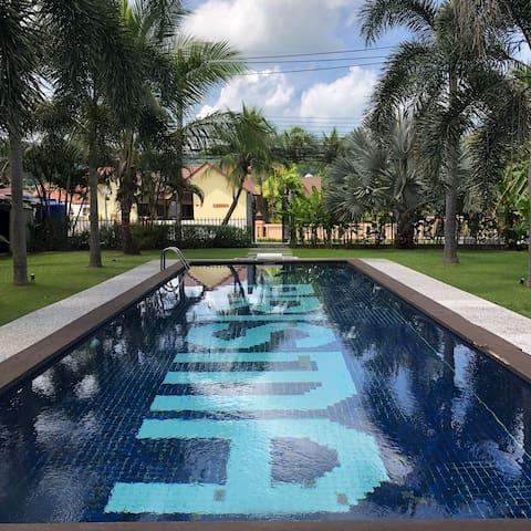 K39A - Wonderful house with 4 bdrm. & swimmingpool