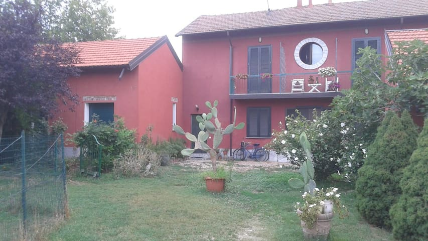 stanza in villa nel Parco dei Ticino Vigevano