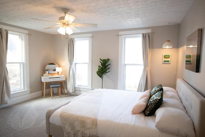 Charming 3BR w/King Bed-Walkable OSU/Short North