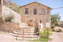 Terlingua Ranch Lodge restaurant - just 4 miles away