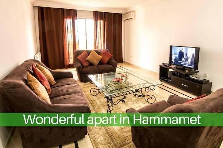 Magnifique appartement à Hammamet
