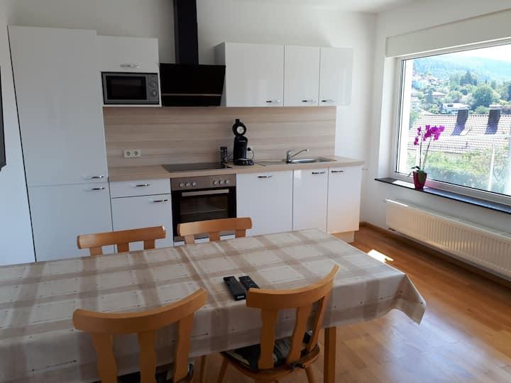 Moderne helle Wohnung mit wunderschöner Sicht