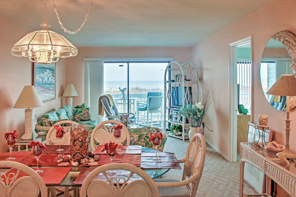 The well-appointed interior offers all the comforts of home!