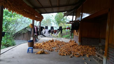 Well come to my homestay with my family trekking .