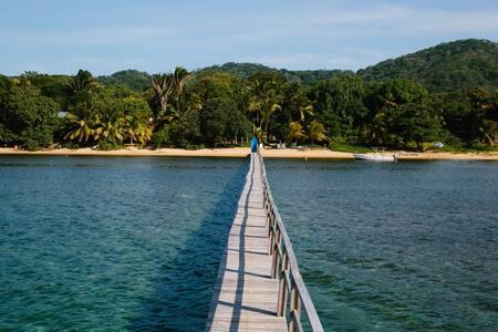 Sea View Bungalow at Puerta Azul - 2 Beds - Sandy Bay