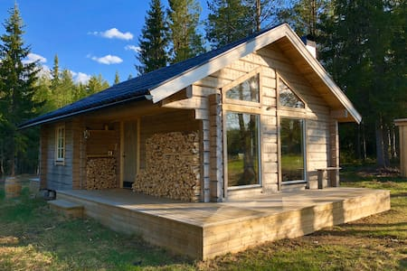 Offgrid Cabin in the forest 🔥🌲 Dalarna County