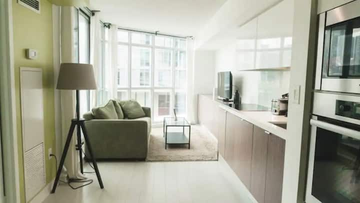 Modern and Stylish 1 Bed Condo Near CN Tower
