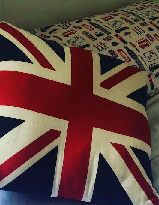 Everything British room
