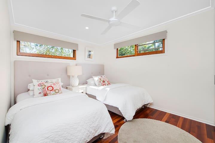Bedroom 3 - King Single Beds