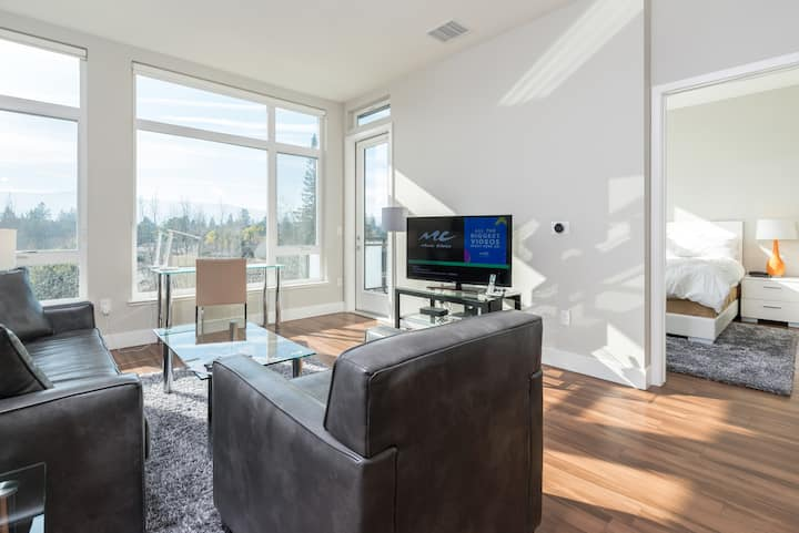New 1 BR in Mountain view + outdoor swimming pool