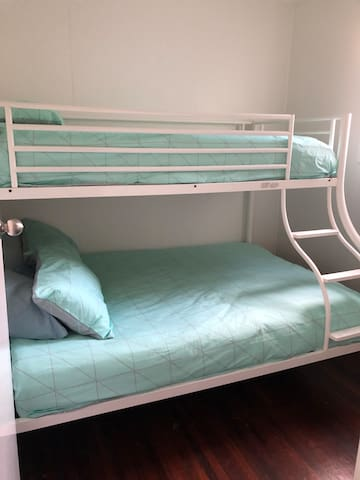 Bedroom 3, Double/Single Bunk Bed  (This is our smaller room) perfect for kids