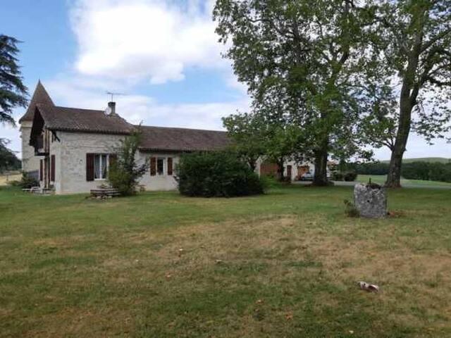Maison de charme au calme avec jardin Lot/Garonne