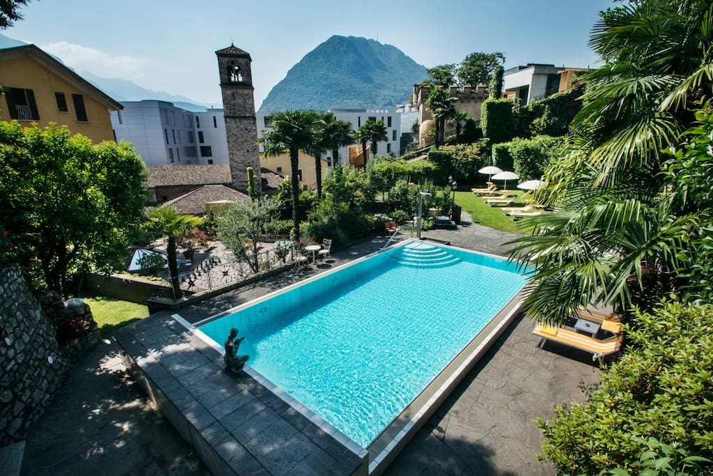 Charly co incl free public transport ticket for Stanze affitto lugano