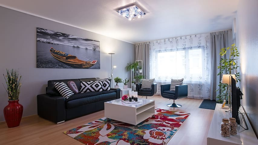 TOP outfitted. Apartment 83 sqm in WHV, Wlan, elev - Wilhelmshaven - Apartmen
