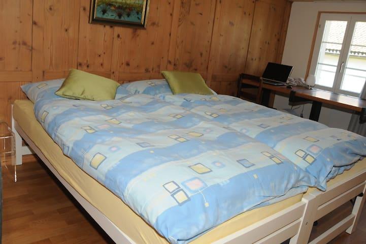 Heimelige Zimmer in Bauernhaus - Rothenthurm - Departamento