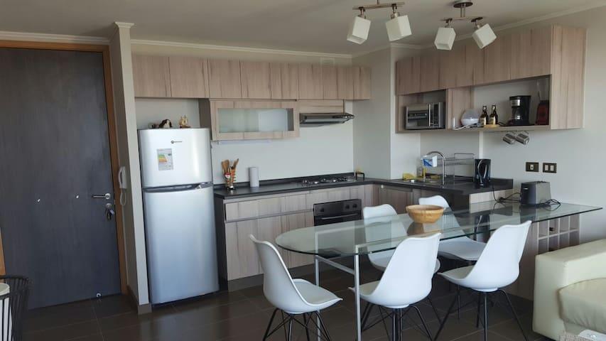 DEPARTAMENTO NUEVO CON VISTA AL MAR EN REÑACA - Viña del Mar - Apartamento
