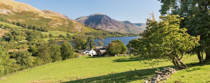 The Place, Loweswater.  Utter tranquillity.