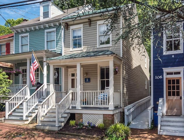 Cozy home in Historic Annapolis with Parking