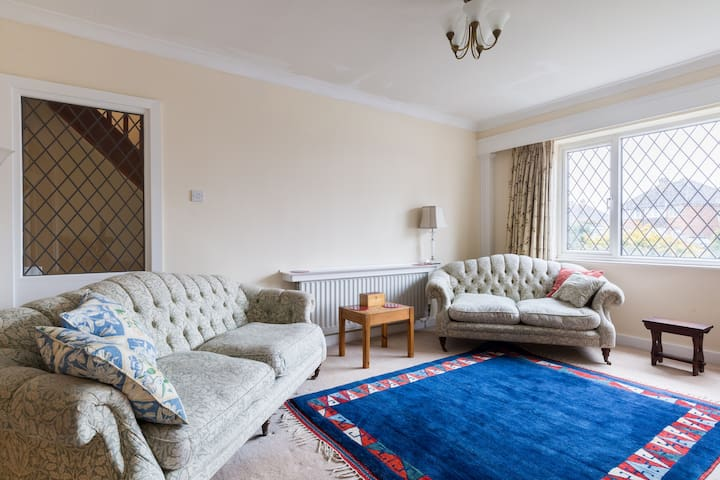 A welcoming sitting room, chat to your hearts content