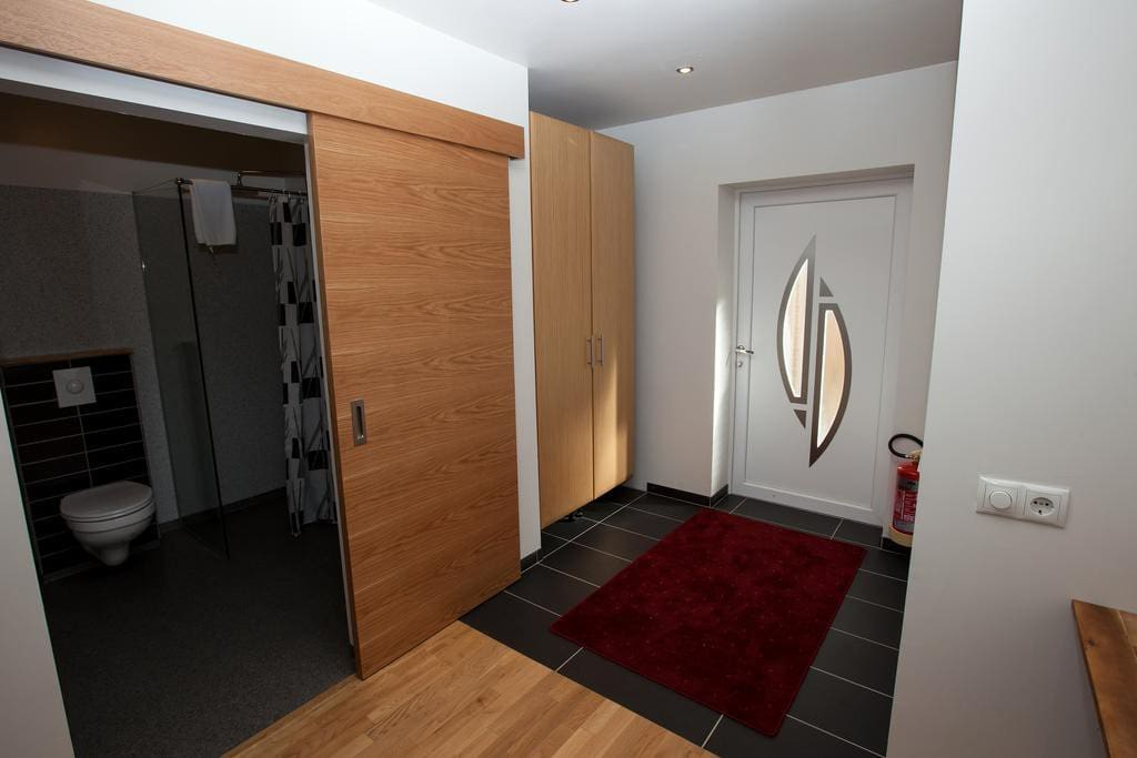 Deluxe room with private entrance.