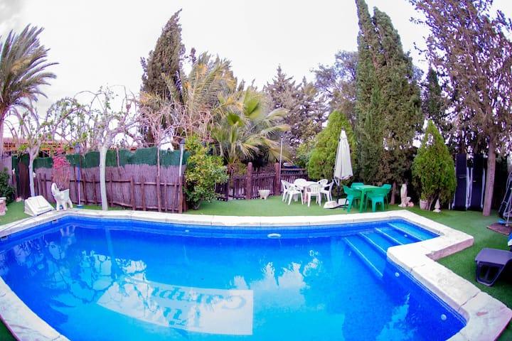 Villa de 5 chambres à Archena, avec piscine privée, terrasse aménagée et WiFi