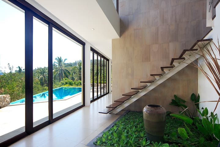 Aja 1 architect villa jungle side - Ko Samui - Casa