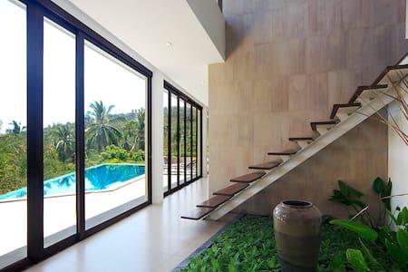 Aja 1 architect villa jungle side - Ko Samui - Huis