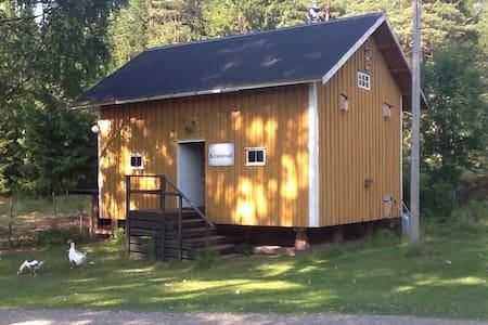 Stabburs-loftet, rent a bed - Strømsfoss