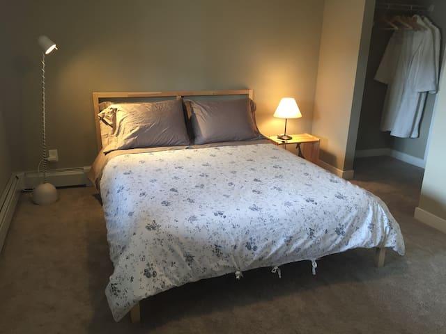 1 bedroom w/ private bath in new condo