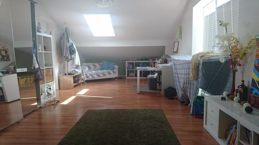 Light flooded room in Pinneberg - Pinneberg - บ้าน