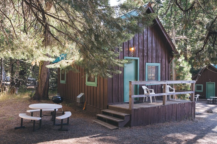 Charming Cabin near Lassen National Park