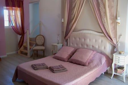 Chambre familiale proche Nantes et Puy du fou - Tillières - Guesthouse