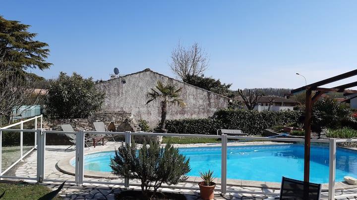 Maison Toulouse Villa familiale/family house 8+