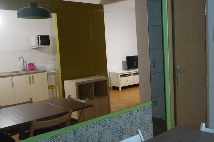 Acogedor apartamento para familias