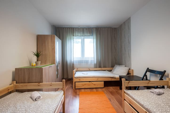 cozy, bright and clean room for 3se - Bratislava - Hus