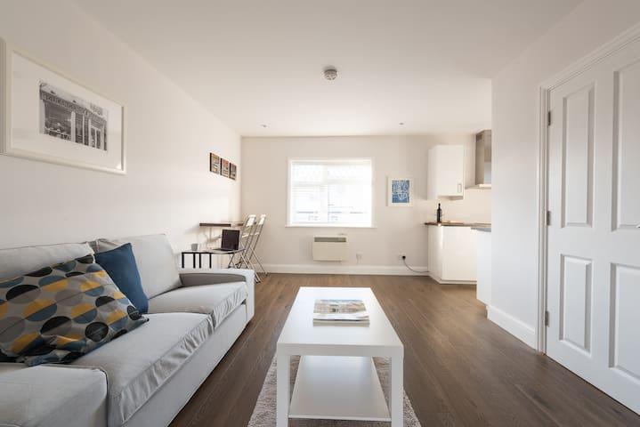Modern Spacious Apartment (5mins to tube)