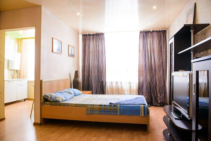 Уютная квартира на пр-те Ленина - Ukhta - Apartamento